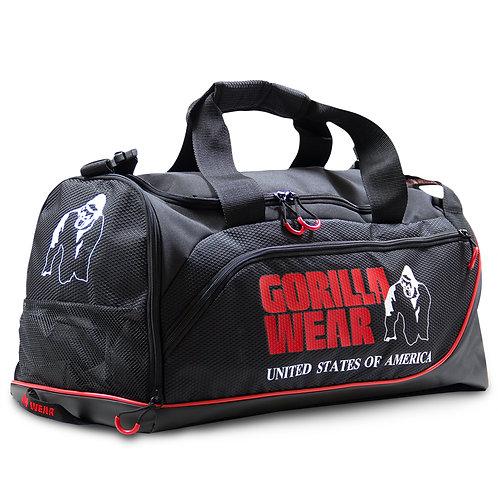 Jerome Gym Bag - Black/Red