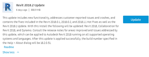 Revit 2018 2 Updates and Features