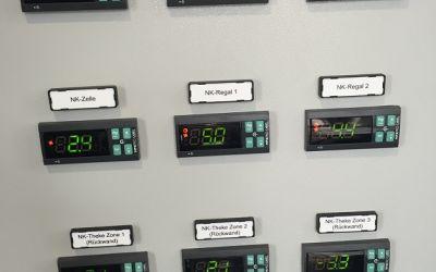 Temperaturregelung Carel