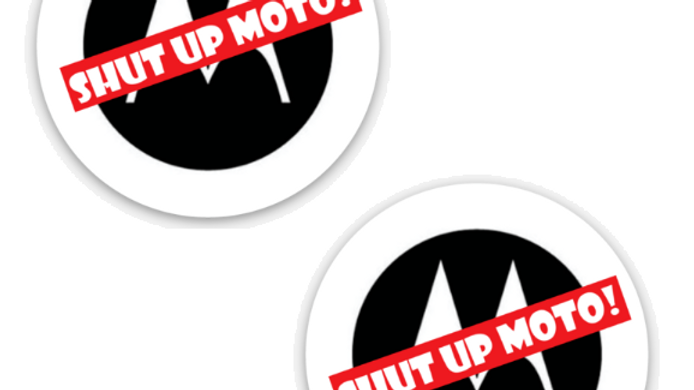 Shut Up Moto! Mini Stickers