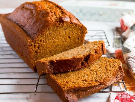 Kentucky Bourbon-Moonshine Pumpkin Bread