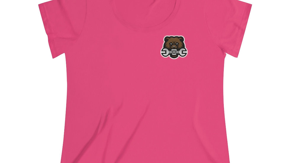 Team Tool Bear Women's Curvy Tee (14-28)