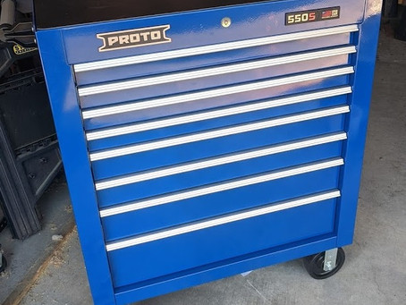 """Proto 550 34"""" Roller Cabinet"""