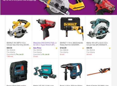 Refurb Tool Sale @ eBay