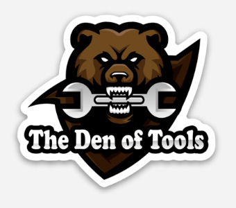 Team Tool Bear Die Cut Stickers are now in the shop