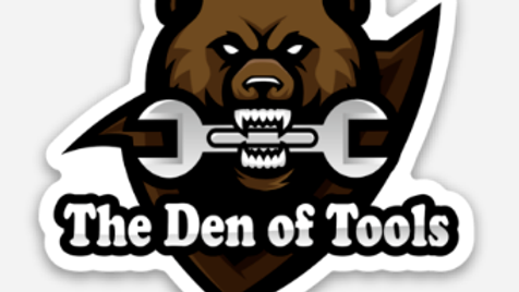 Team Tool Bear Magnet (Medium Size)