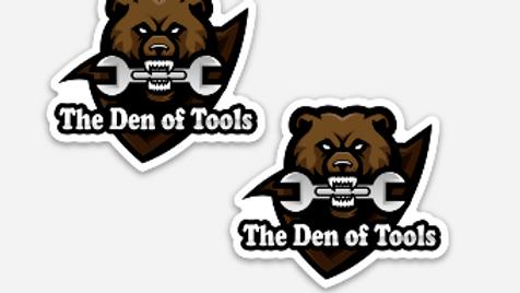 Team Tool Bear Mini Stickers