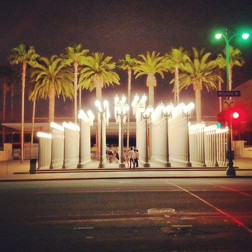 LACMA Wilsher Blvd Los Angeles California Museum