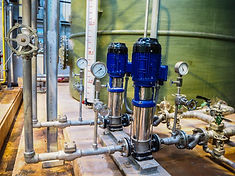 Pump of water treatment systems in power