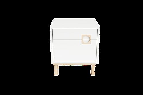 Lark - Side Table White