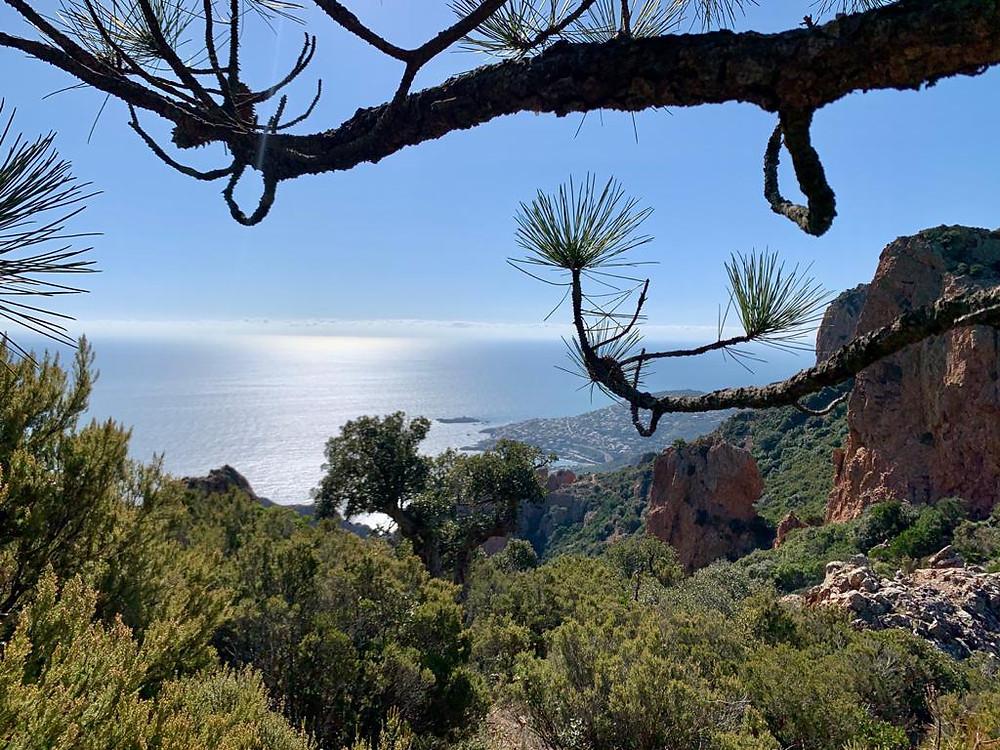 panorama vue sur la mer