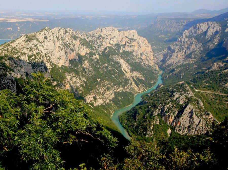 Panorama sur les gorges du Verdon