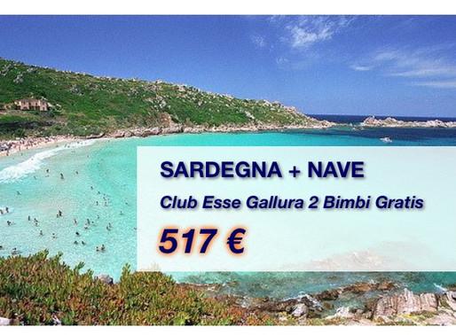 Sardegna 2 bambini gratis