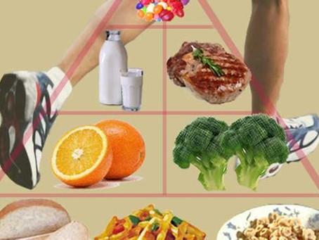 Esercizi pratici per imparare la piramide alimentare