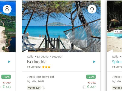 Campeggi e residence Sardegna