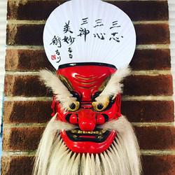 Uchiha and Oni Mask