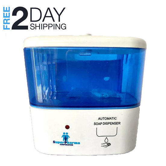 Superpharma Automatic Hand Sanitizer Dispenser Touchless Liquid Soap
