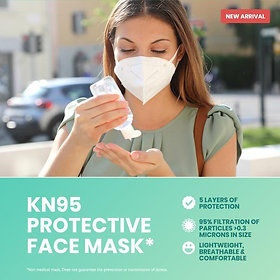 VIP KN95 Face Mask (10 PACK)