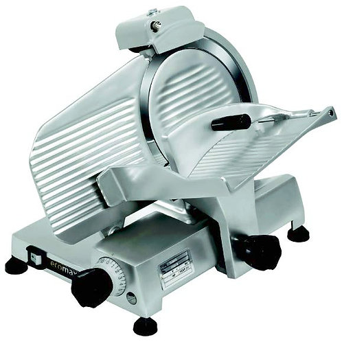 Ecomax (by Hobart) Manual Gravity Feed Slicer – TAS250-2,  Elec: 220/50/60/1