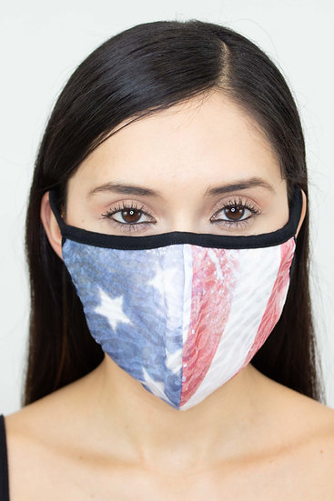 American Flag Face Mask