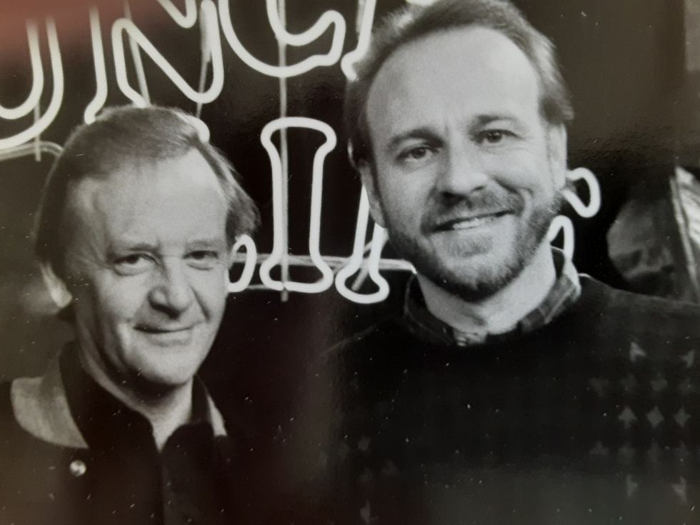 """John Byner and Douglas Wellman on """"Comedy on the Road"""""""