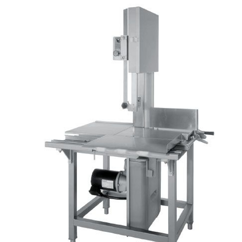 "Hobart 6614-1 126"" Vertical Meat Saw - 1 hp, 200/230/60/1V"