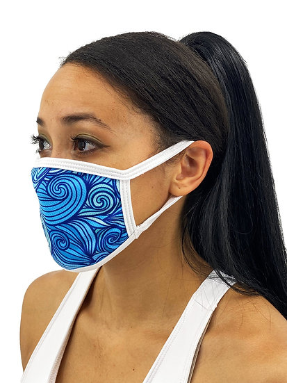 Thrashing Oars Face Mask With Filter Pocket
