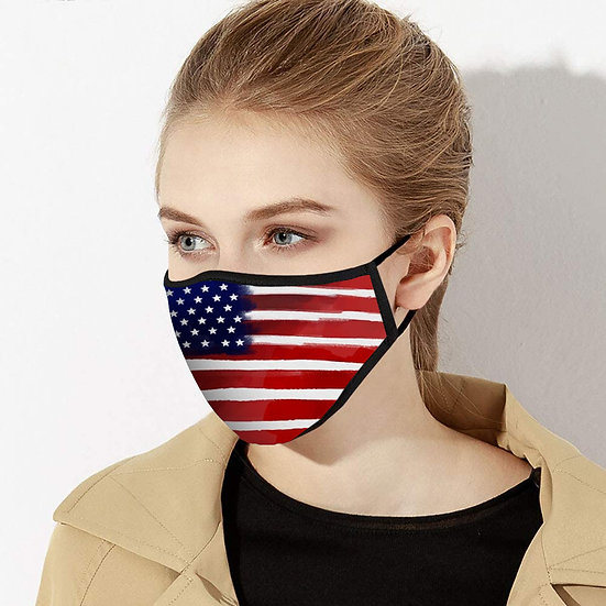 American Flag Face Mask - Made in USA