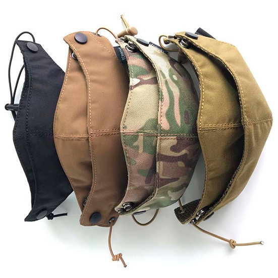 Cordura Half Face Mask Tactical Protective Gear Camouflage  Mask Free Shipping