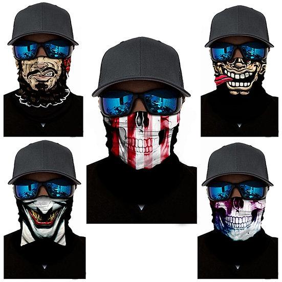 Face Headband Halloween Joke Cycling Face Mask