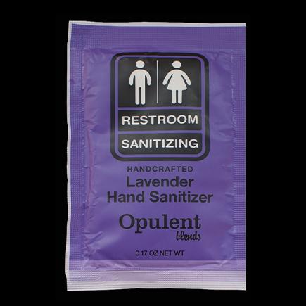 (40 Pack) Hand Sanitizer Single Use Packet - Lavender