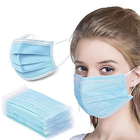 3 Ply Disposable Face Masks (50 pack)
