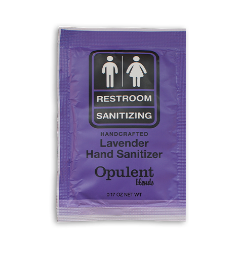 (10 Pack) Hand Sanitizer Single Use Packet - Lavender