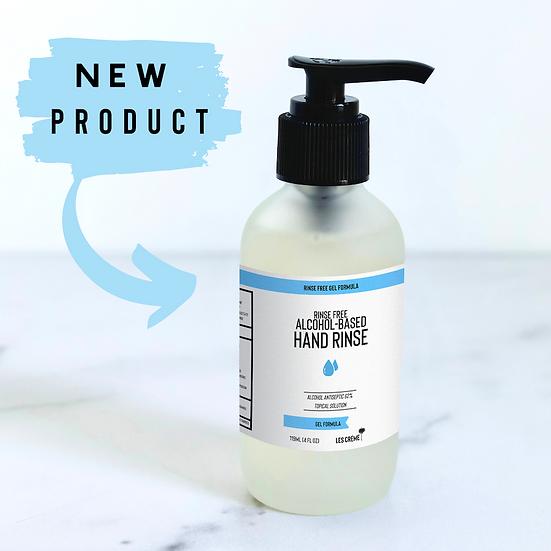 Rinse-Free 62% Ethyl Alcohol Based Gel Hand Rinse 4oz