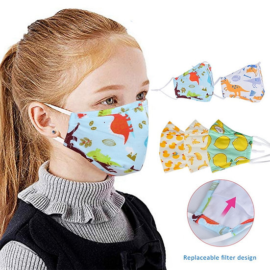 1/5pcs Childrens Mask Kids Mask Face Masks Dropshipping
