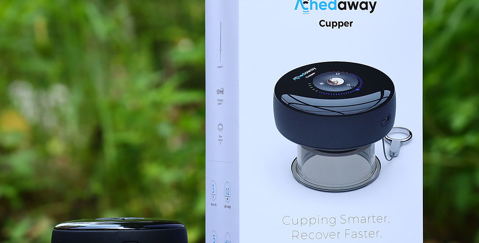Achedaway cupper -the smart cupping therapy massager