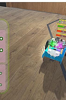 Simulateur mBot