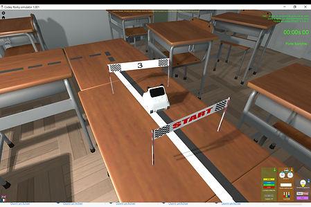 Simulateur robot Codey Rocky