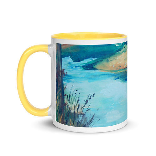 Taza con interior coloreado -Mug with Color Inside