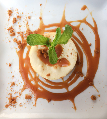 Cheese cake caramel beurre salé - Le Caf