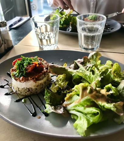 Salade péruvienne Le  Café de Caen