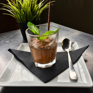 Mousse au chocolat - Le Café de Caen
