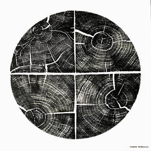 """Cercle de Carré de Chêne (Petite) - 21"""" x 21"""" inches"""