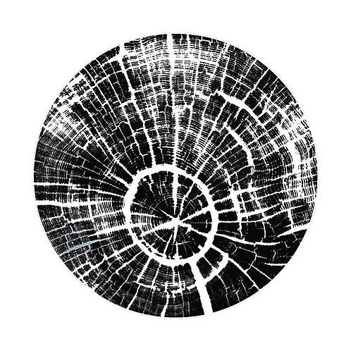 """Cercle de Chêne (pt) 11 1/2"""" x 11 1/2"""" inches"""