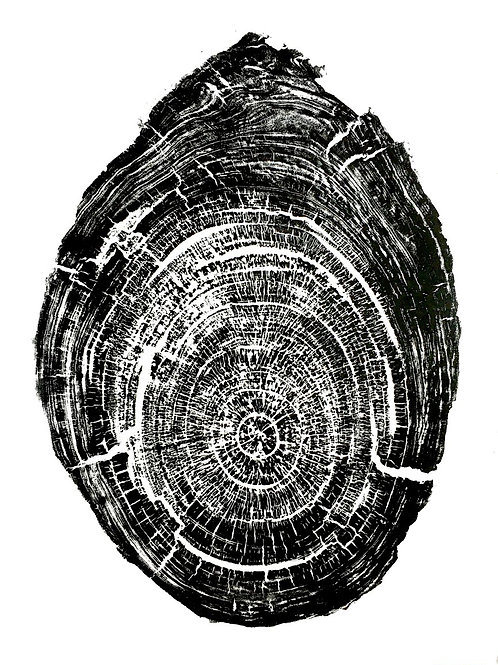 """Two Trees Print - 23""""x 31"""" inches"""