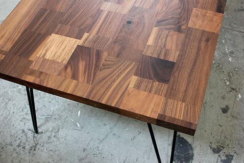 Cubism Black Walnut Table