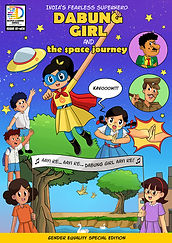 Dabung Girl and Space Journey English