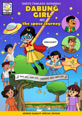 New Comic Book Alert! 'Dabung Girl and the Space Journey' Launched!