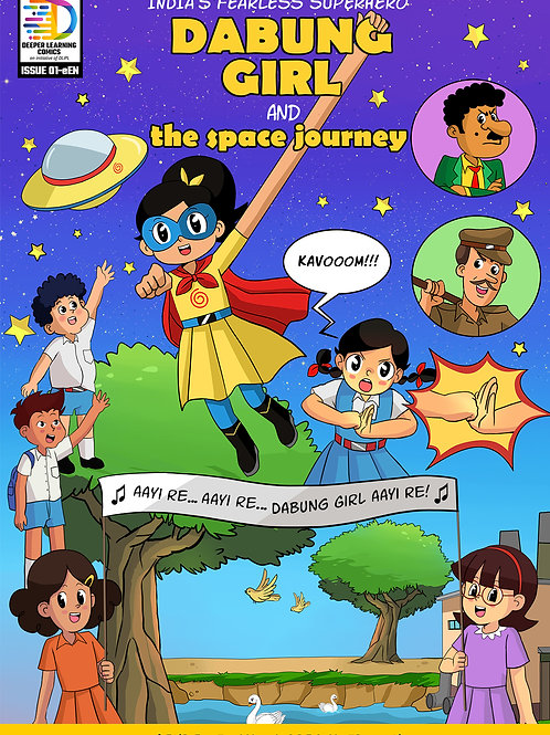 Dabung Girl and the Space Journey + Children's Revolution [Set of 50 Books]