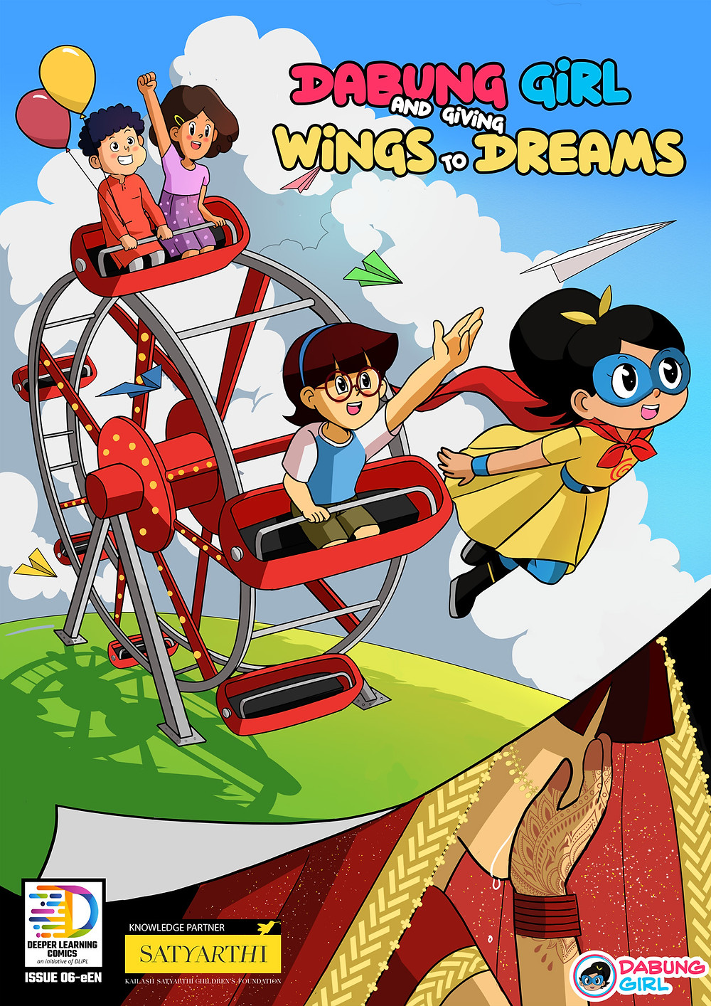Dabung Girl and Giving Wings to Dreams